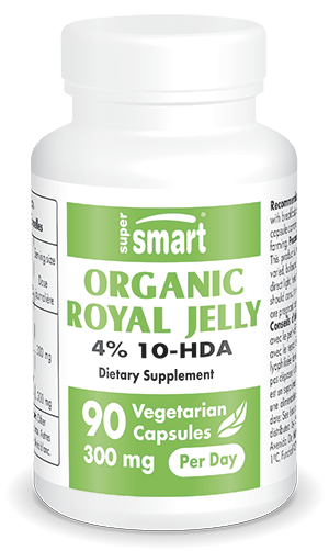 Organic Royal jelly 4 % 10-HDA
