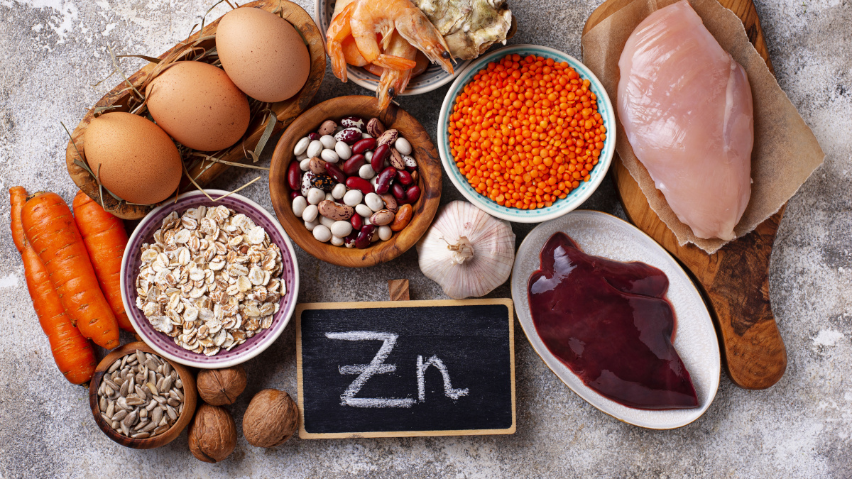 Zinc-rich foods - offal, seafood and meat